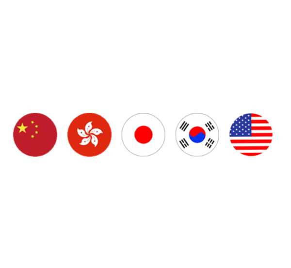 Native Specialists in Chinese (TC & SC), Japanese, Korean, English.